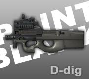 adalah senjata smg yang dikembangkan oleh fn di belgia p90 ext senjata ...