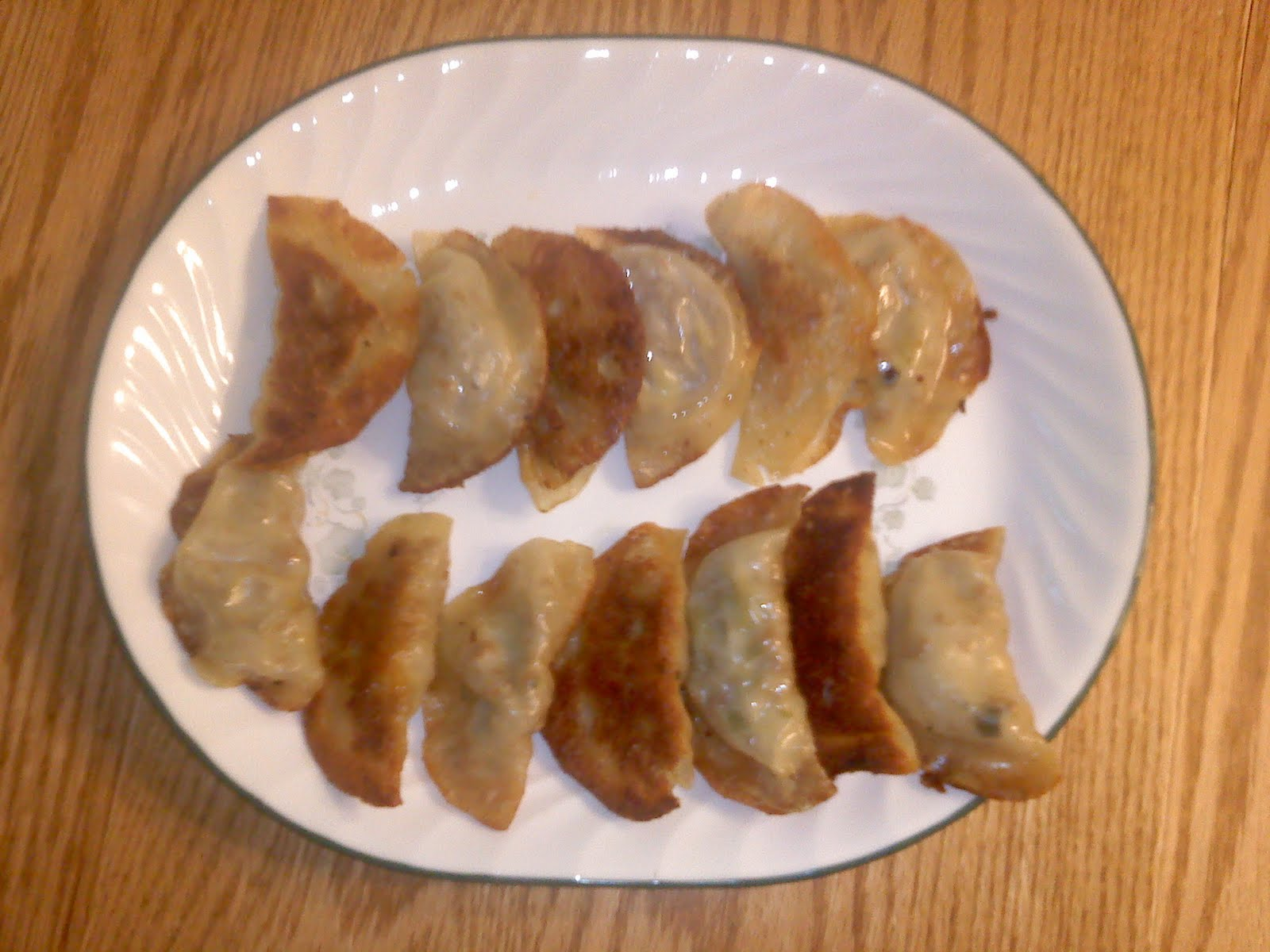 pot stickers pork and shrimp pot stickers meat and chinese chive pot ...