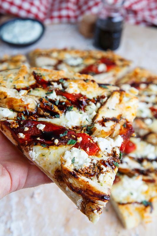 chicken feta pesto pizza recipe