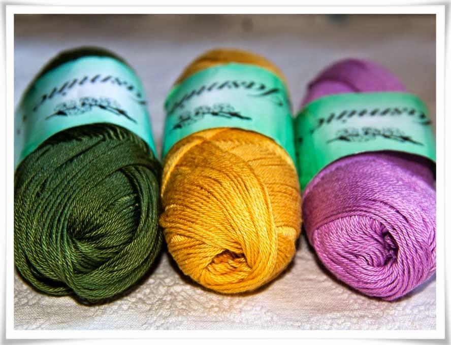 Fler färger av garnet