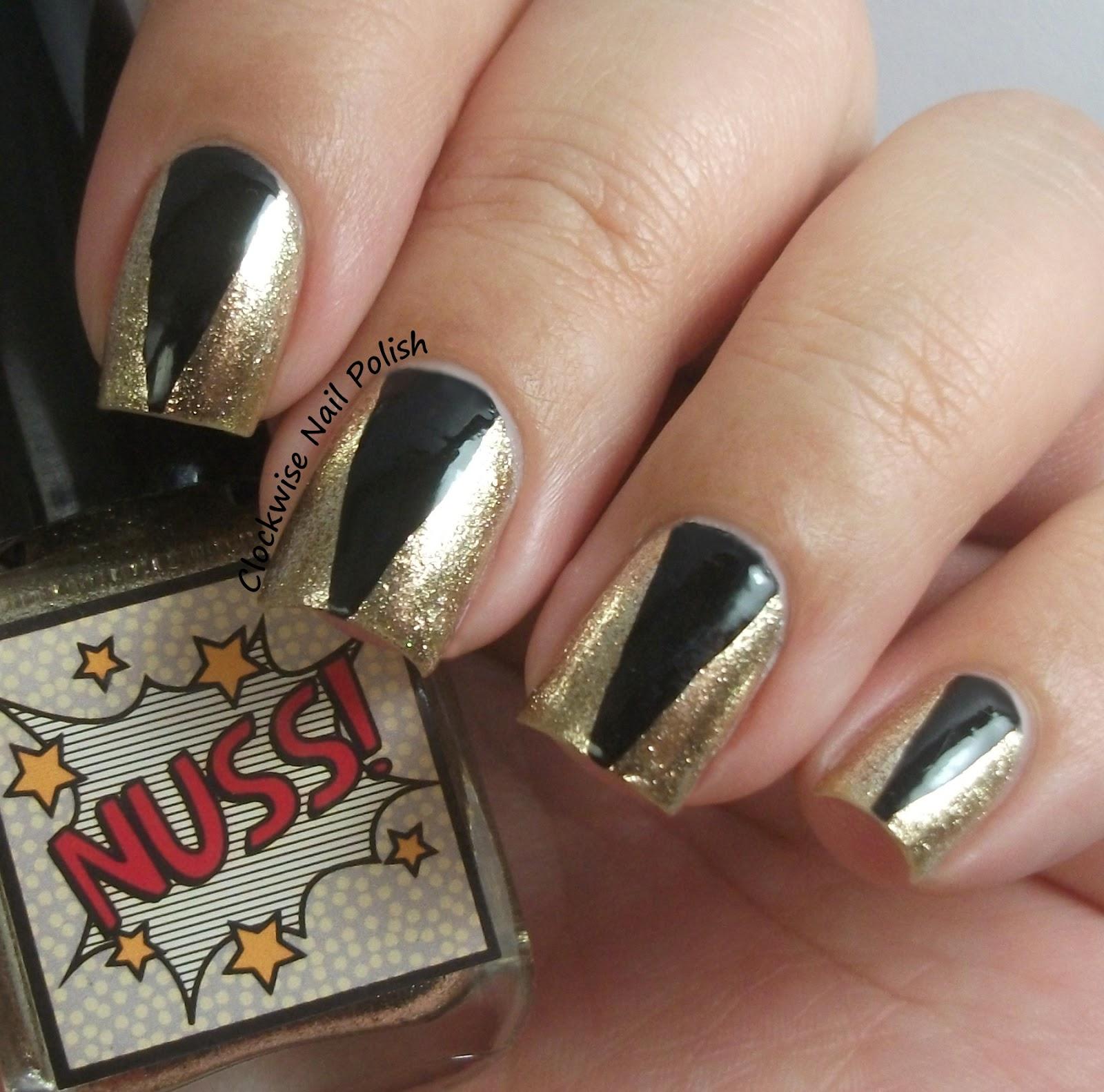 The Clockwise Nail Polish: Esmalteria da KK Nuss! & New Year\'s Eve ...