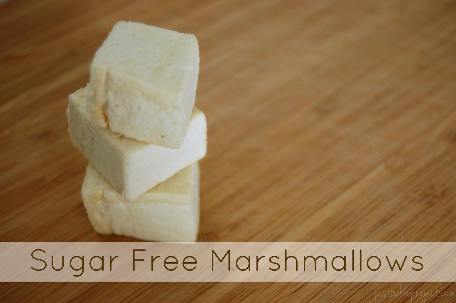 Homemade Sugar Free Marshmallows