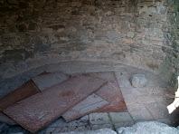 La part superior de l'interior de la tina de Les Berengueres