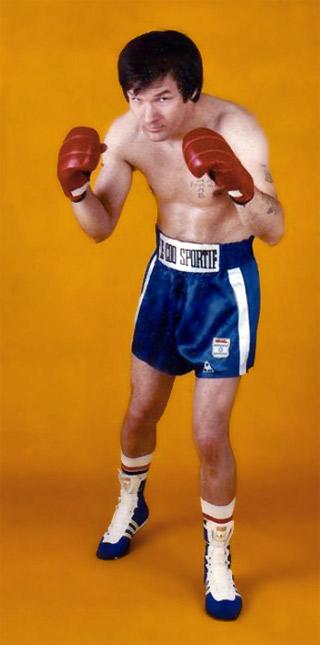 Alain Barret, boxeur