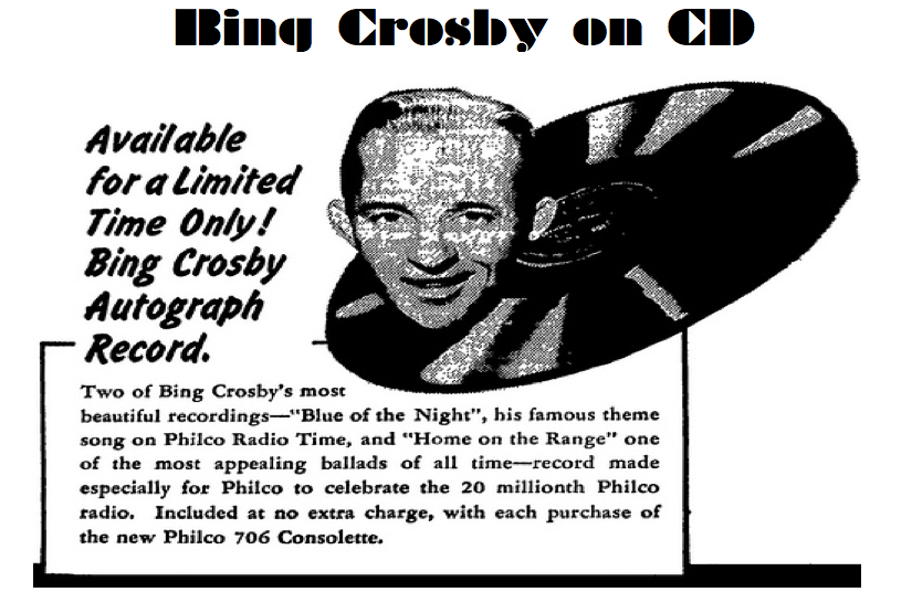 Bing Crosby on CD
