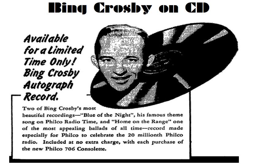 Bing Crosby on CD