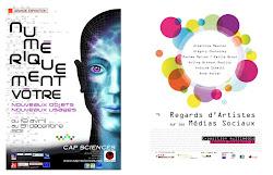 Regards d'artistes sur les médias sociaux, 2e étape à Cap Sciences, Bordeaux