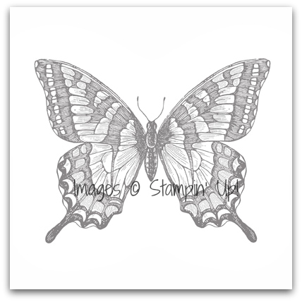 Stampin' Up! Swallowtail Stamp Brush Digital Download