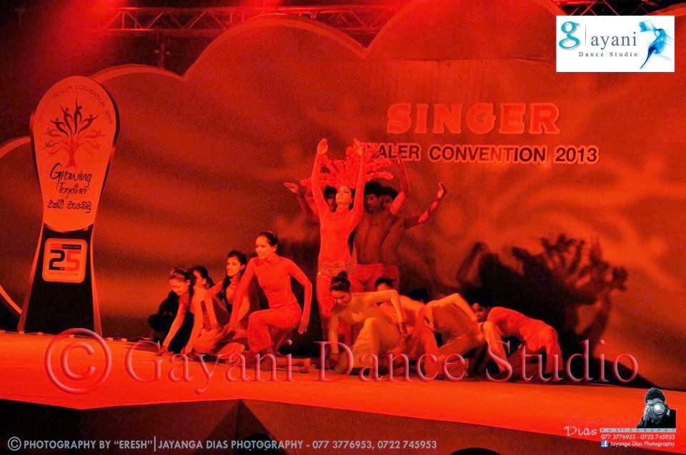 Gayani Dancing Studios - SINGER Event 2013/03/22