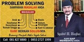 Konsultasi Syaiful M. Maghsri