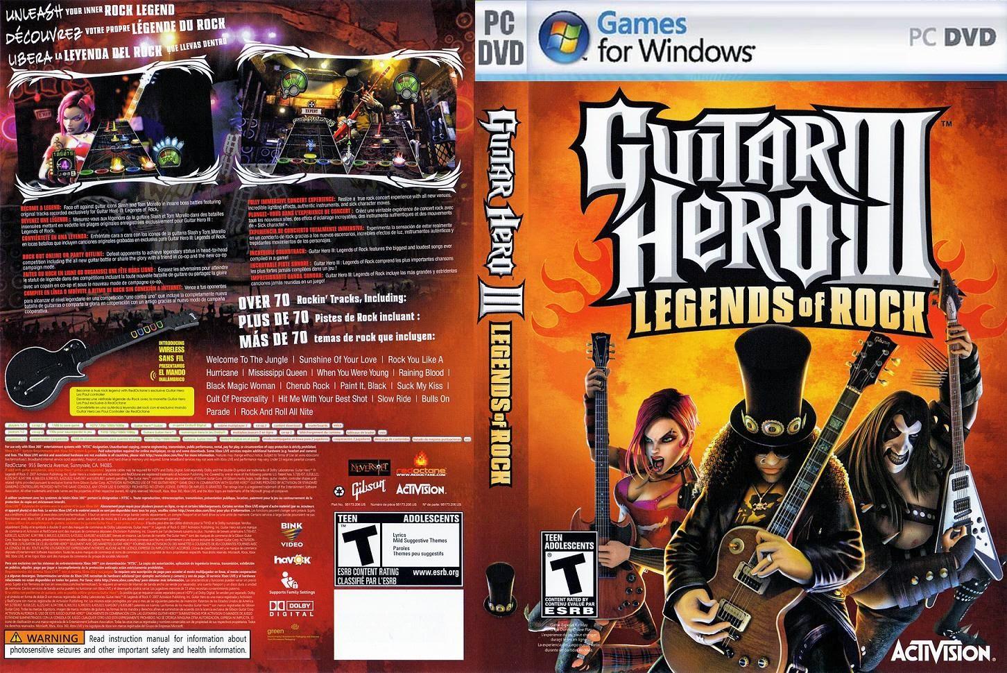 guitar hero 3 torrent pc