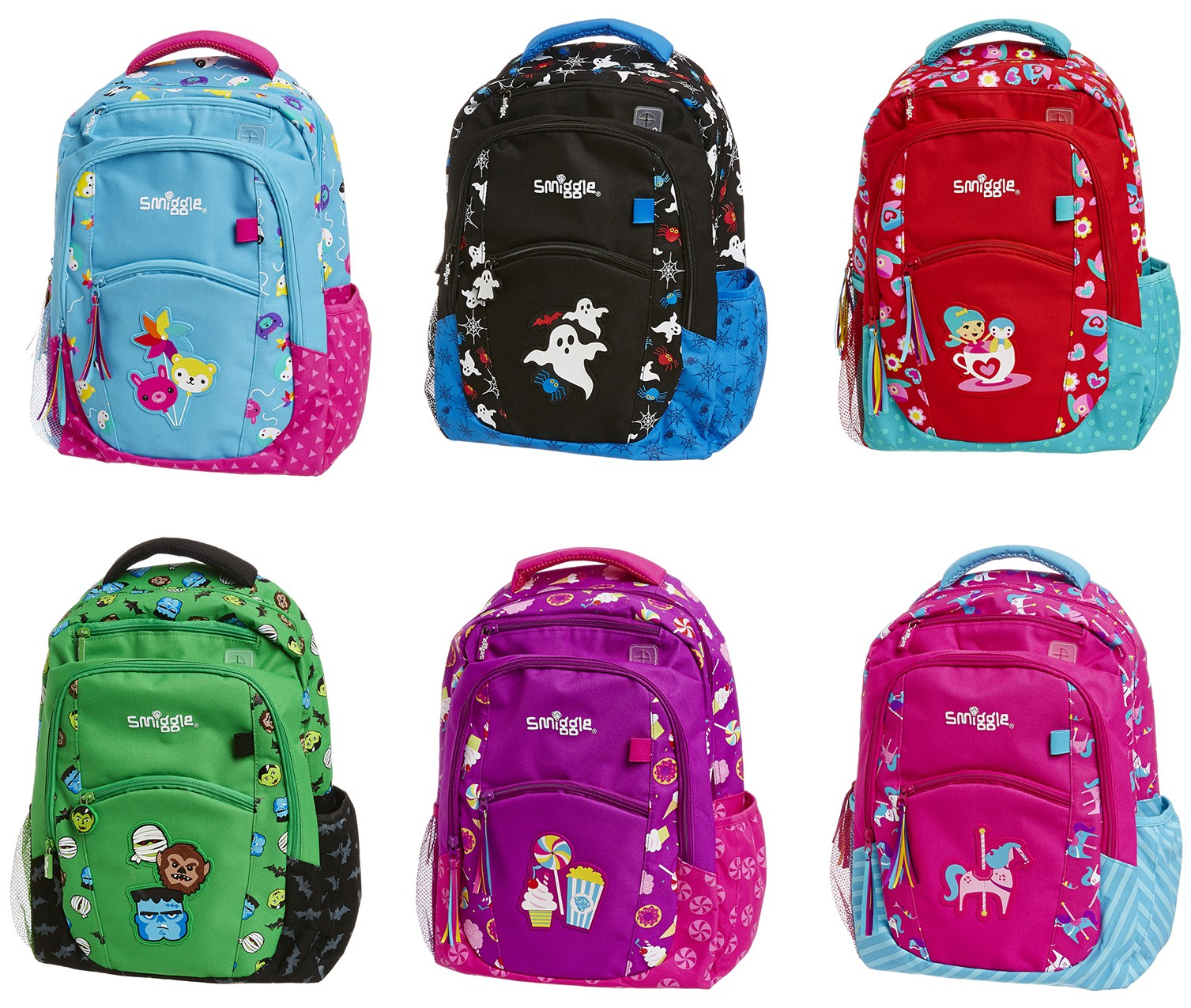Smiggle bags for school - Alongside The Backpack They Have Included A Carnival Stencil Book 8 50 With Lots Of Space For Your Children To Have Fun And Be Creative And A Carnival