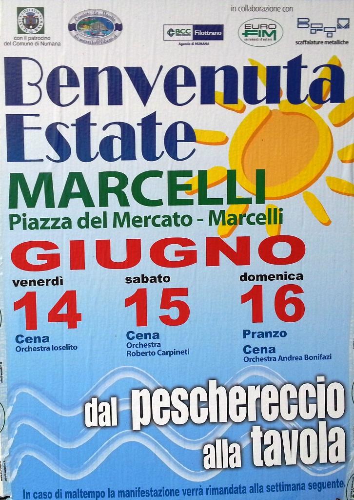 Benvenuta Estate 2013 a Marcelli di Numana