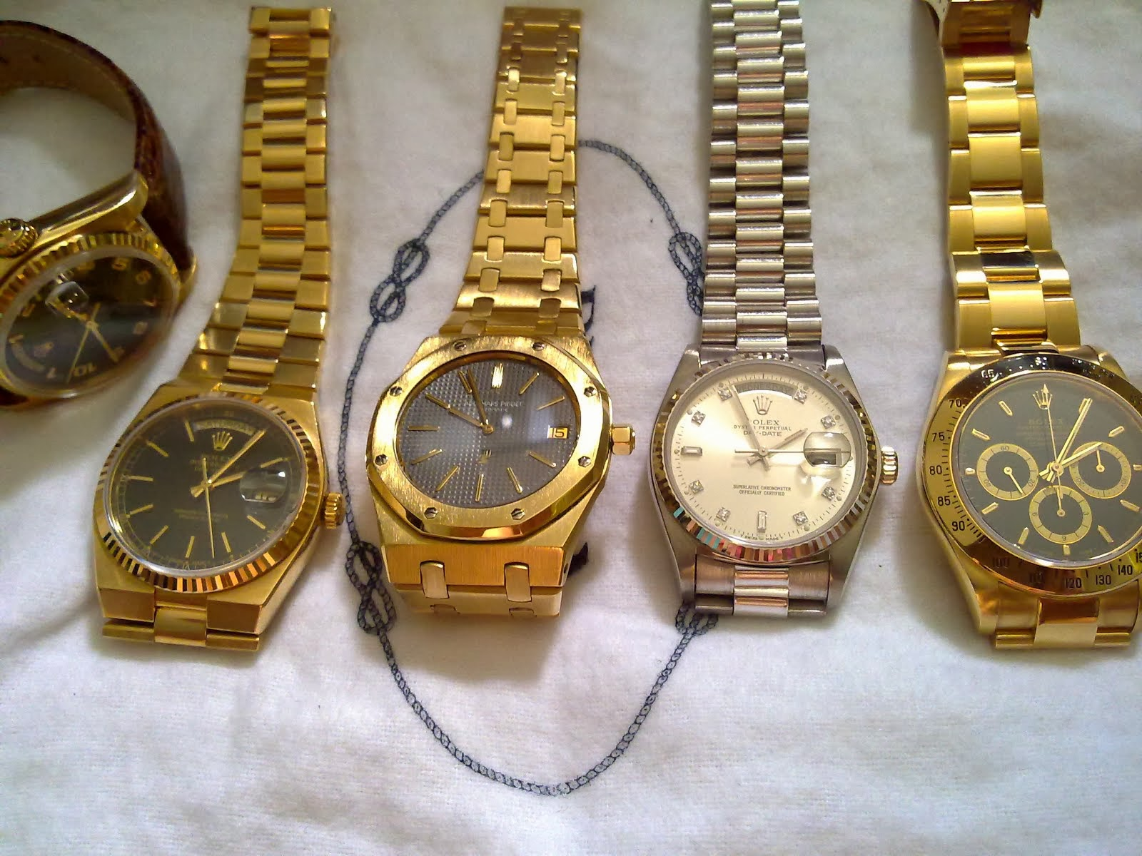 Sham Shui Po Watch Fever's Collection
