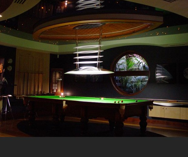 Pool Table Lights Have A Shape Rectangular So As