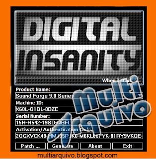 sound forge 11 keygen digital insanity