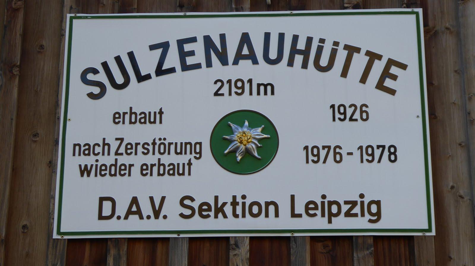 Sulzenau hutte
