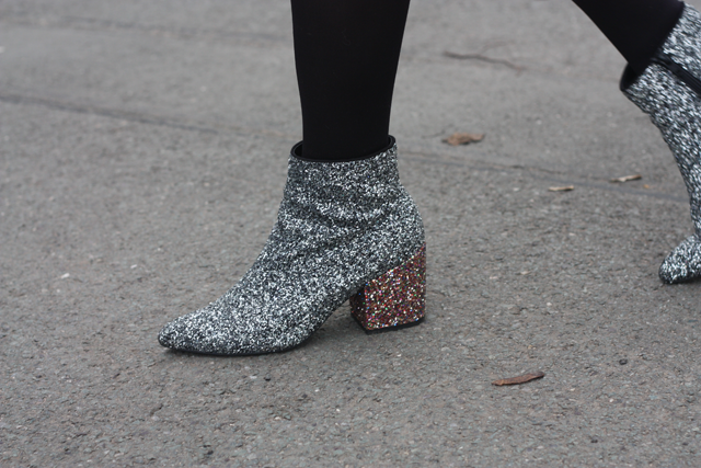 ASOS glitter boots fashion blog