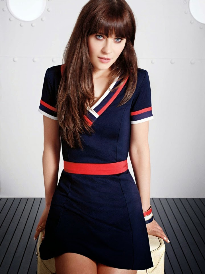 Zooey Deschanel: Tommy Hilfiger 2014 Collection