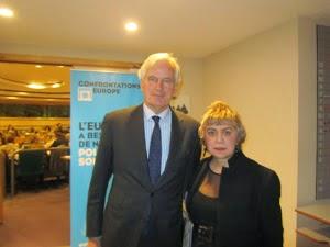 MICHEL BARNIER, Chef de la négociation avec le Royaume-Uni @EU_Commission & MORGANE BRAVO.