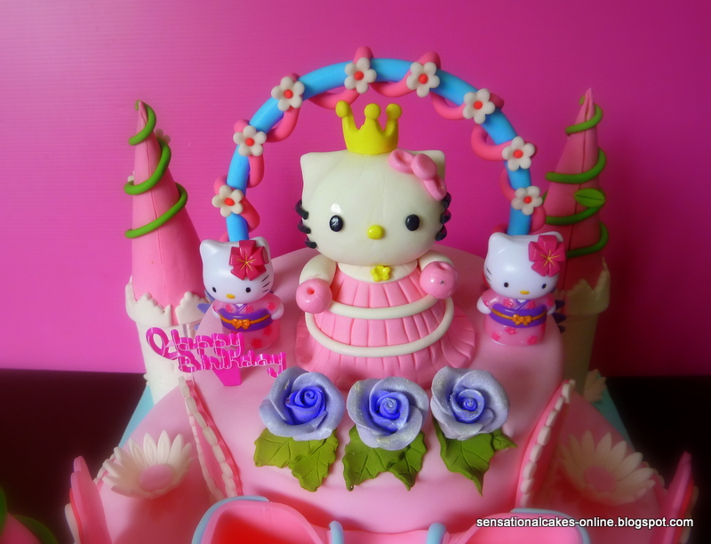 The Sensational Cakes H Kitty Cake Singapore 3d Castle