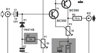 Simple video amplifier circuits projects ccuart Choice Image