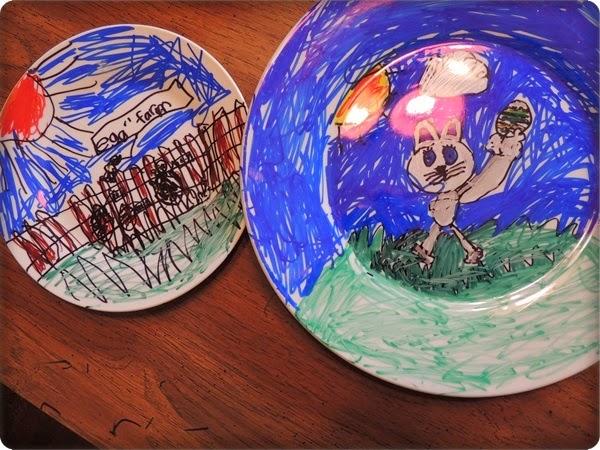 Aj deti môžu pokresliť taniere.