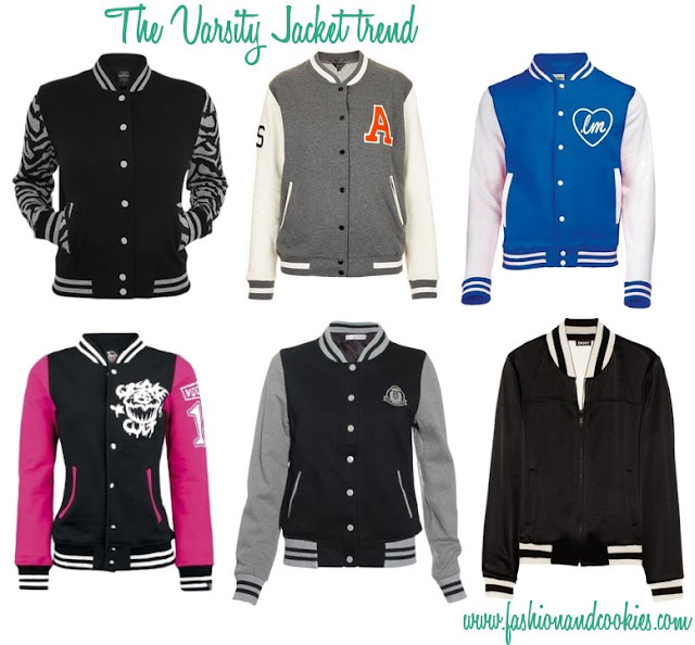 Varsity Jacket trend, Fashion and Cookies