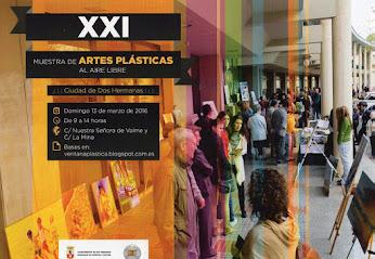 BASES XXI MUESTRA DE ARTES PLÁSTICAS AL AIRE LIBRE CIUDAD DE DOS HERMANAS. TFNO.: 955678195