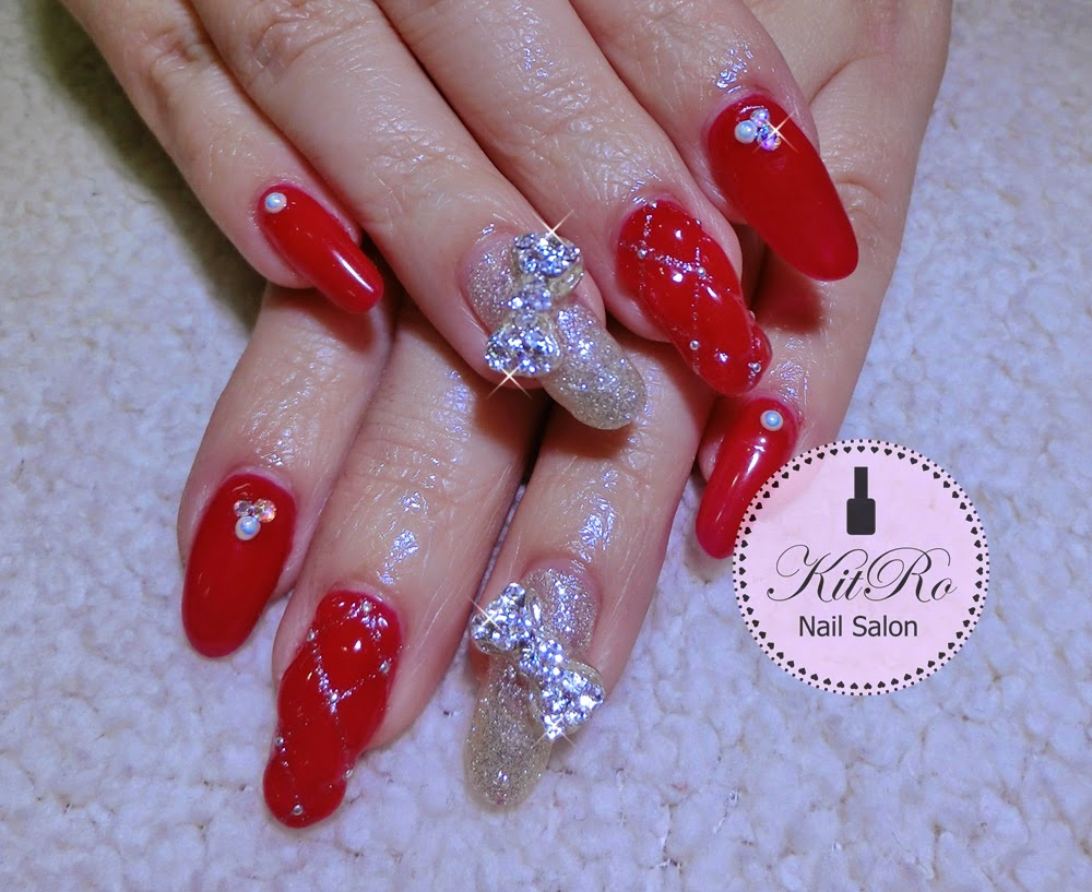 Kit-Ro Nail Salon: February - chinese new year 2015 - Nail Design
