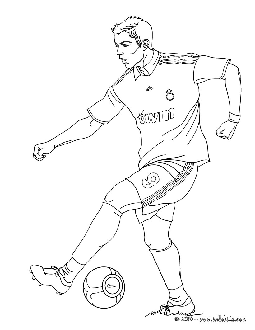 disegni da colorare calciatori roma