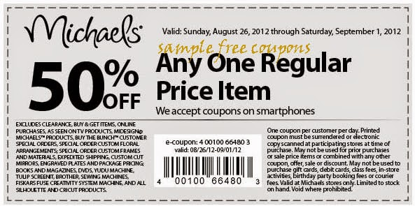 Michaels Cake Decorating Promo Code : Michaels Coupons October 2014