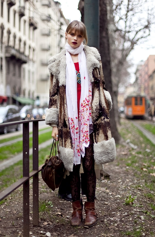 Beauty By Design Street Style Blog Abbey Lee Kershaw Eclectic Foho