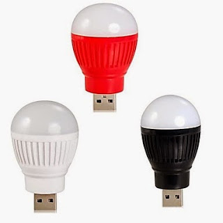Lampu USB (Bulp / Bohlam) LED
