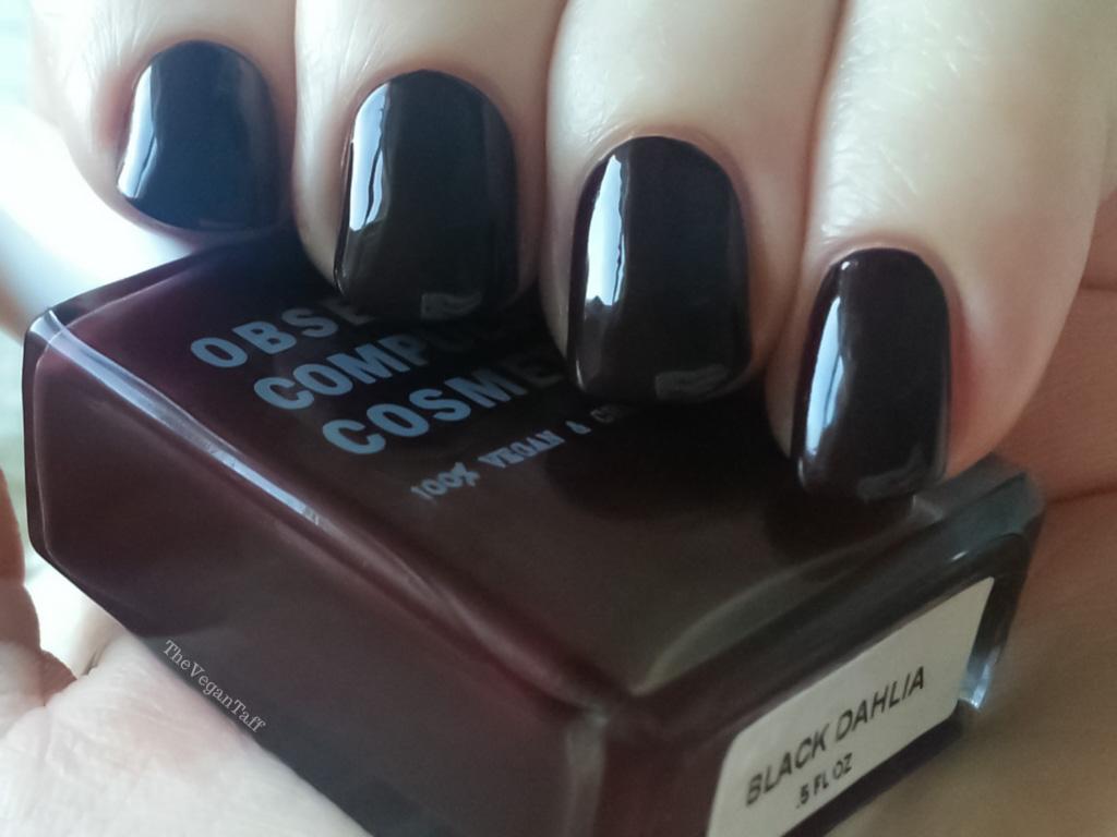 occ black dahlia nail polish