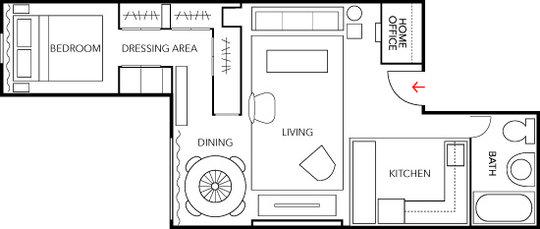 Ar Home 39 S Design Monolocale Open Space 50 Mq