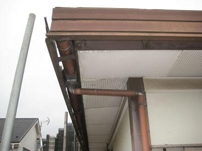 東京都府中市 屋根修理 軒天 破風板 雨樋 設置 工事