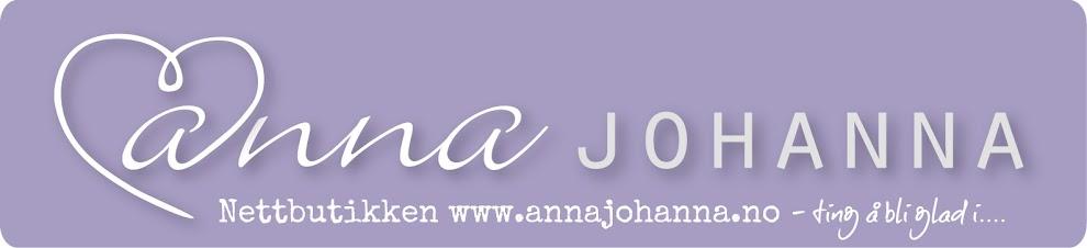 www.annajohanna.no                                                                Nettbutikken