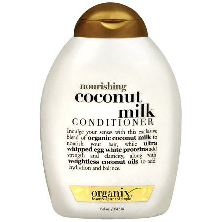 The Kinky Khronicles: Product Review-Organix Nourishing Coconut Milk Conditioner