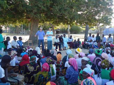 Como anda a missão em Moçambique