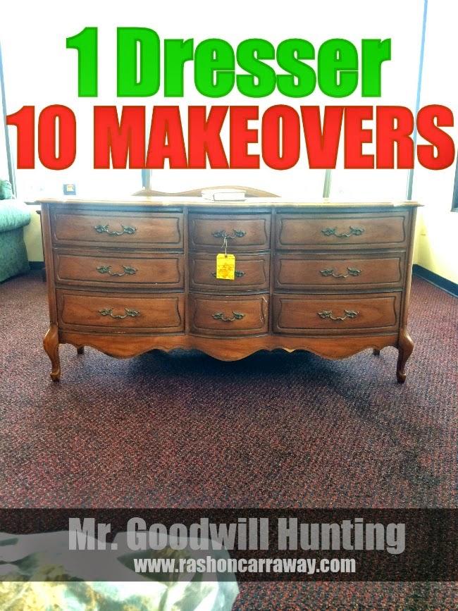 1 Dresser - 10 MakeOvers