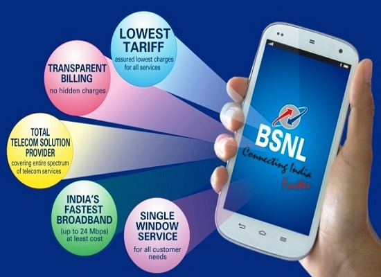 BSNL announced massive reduction in call rate up to 80% to its existing Prepaid Mobile Customers on PAN India basis