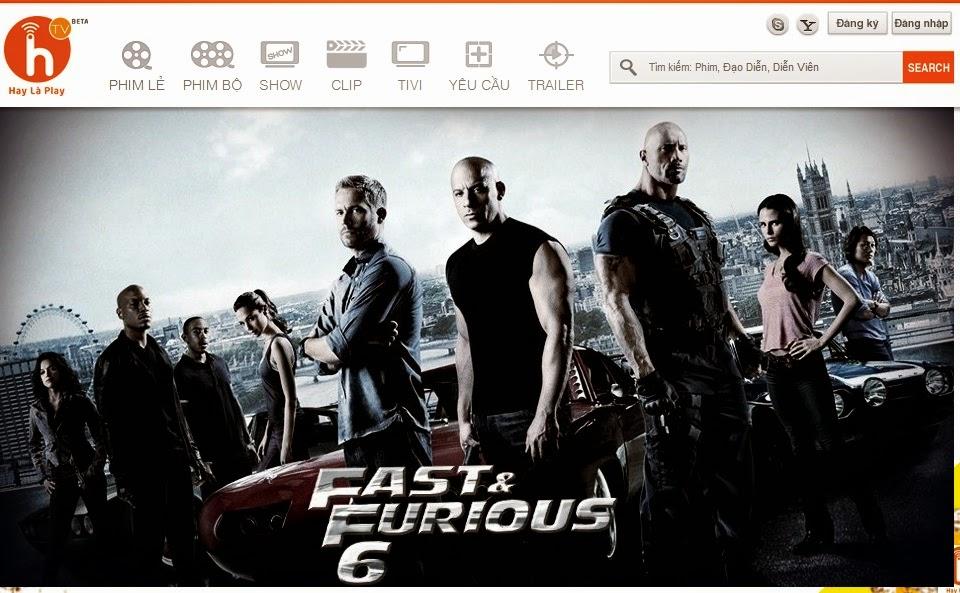 thiết kế web xem phim