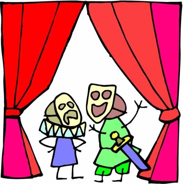 Psych 39 art press les enfants et la sc ne - Dessin de theatre ...