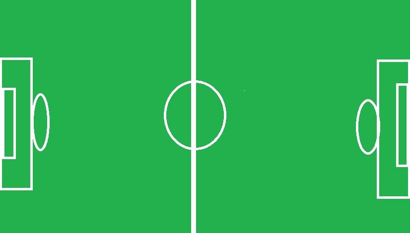 Dibujar una cancha de futbol  Imagui