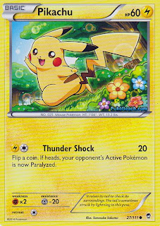 Pikachu Furious Fists Pokemon Card