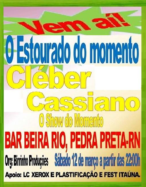 FESTA BAR BEIRA RIO PEDRA PRETA RN