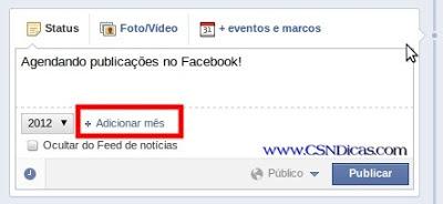Dica: Como agendar, programar postagem no Facebook