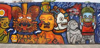 Parte 5 del mural en México DF