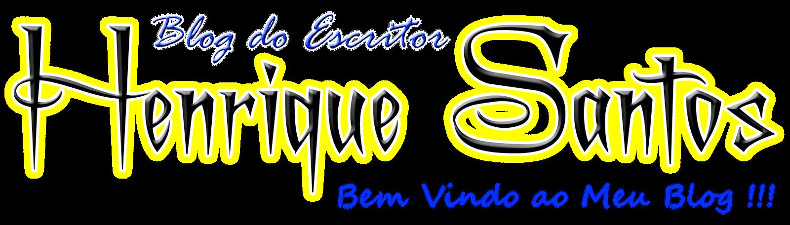 Escritor Henrique Santos